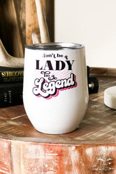 Lady Legend Tumbler