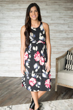 Tabbi Floral Midi Dress (S-XL)