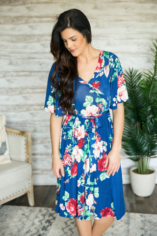 Lunch Date Wrap Dress