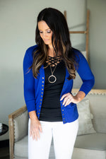 Shiloh Snap Cardigan (Several Colors)
