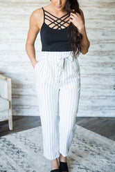Tatiana Striped Pants (Two Colors)