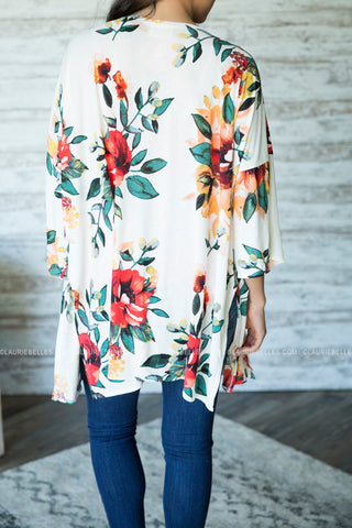 Shine Bright Floral Kimono (Two Colors)