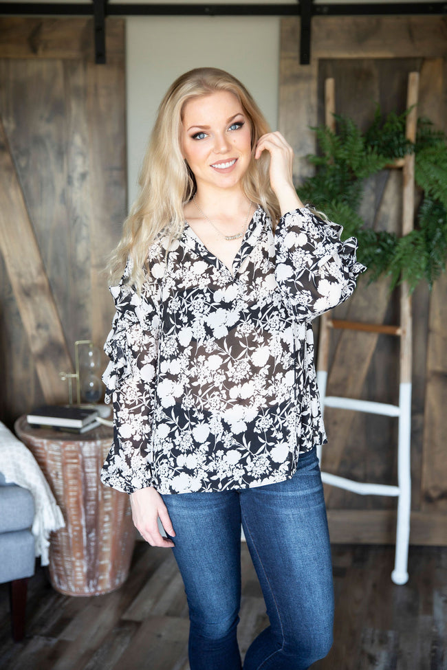 Roxie Floral Top