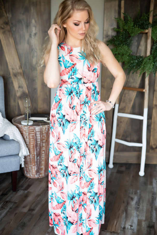 Adventure Seeker Floral Maxi Dress