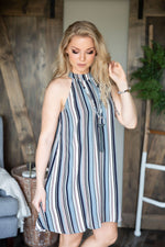 Jacinda Halter Dress