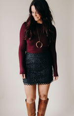 Dress To Impress Suede Skirt