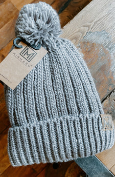 Hit The Slopes Pom Beanie