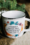 """Worried Mother"" Camp Mug"