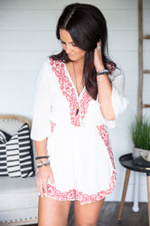 Daxton Embroidered Romper
