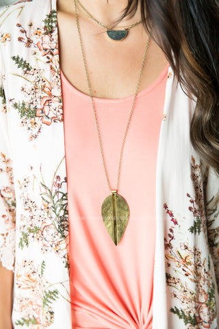 Avery Double Pendant Necklace