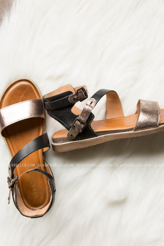 Diba Tru Fair Enough Sandal (Two Colors)