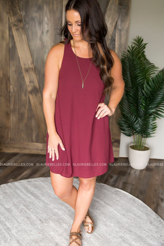 Cascading Ruffle Dress (Two Colors)