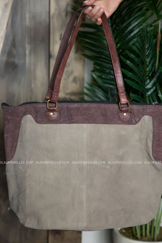 Ivy Canvas Tote