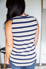 Valori Stripe Tank - FINAL SALE