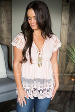Flirty Lace Top