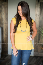Celia Cap Sleeve Top (Several Colors)