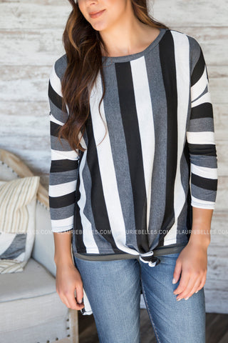 Kiki Striped Top