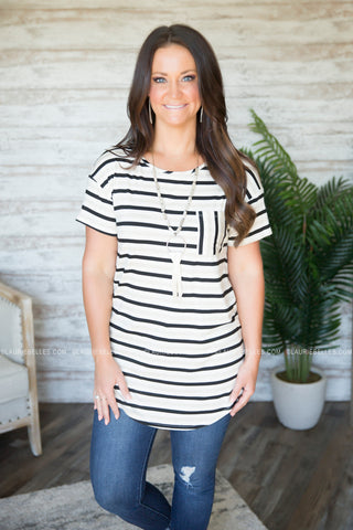 Lexi Striped Tee
