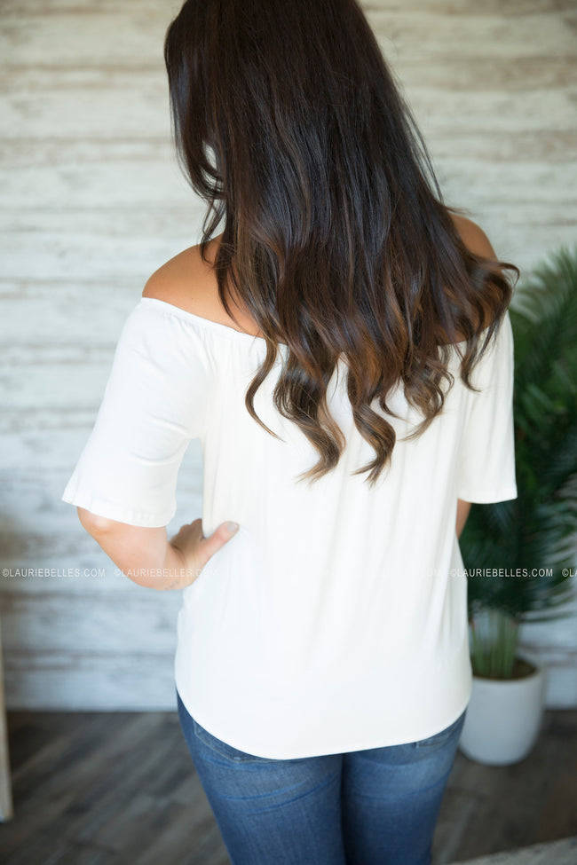 Havannah Off Shoulder Top