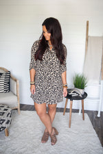 Symone Leopard Print Dress