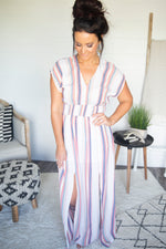 Kinley Stripe Maxi Dress