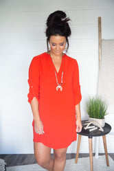 Kenya Shirt Dress