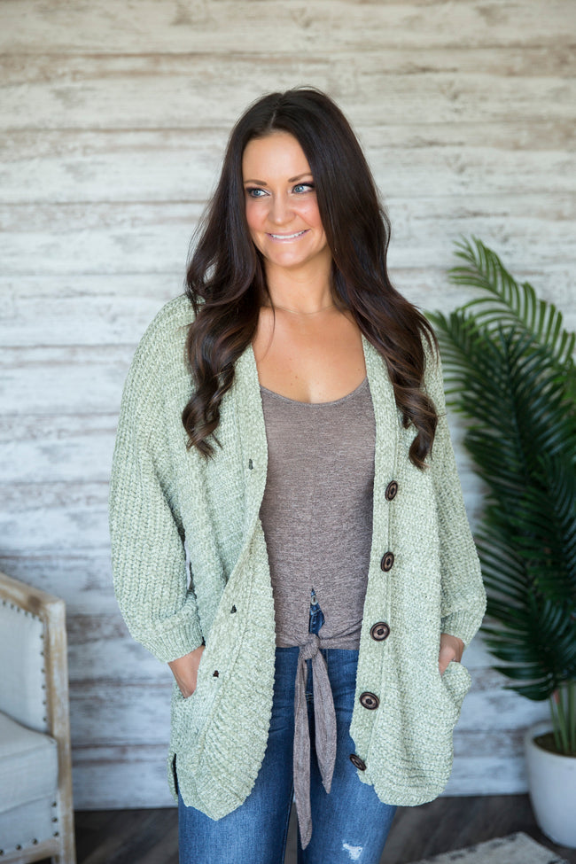 Denise Button Down Cardigan