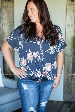 Curvy Christina Floral Top
