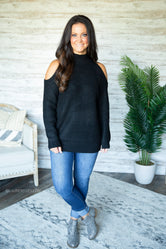 Cherice Cold Shoulder Sweater
