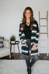 Joni Striped Cardigan