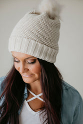 Cold Snap Pom Beanie - FINAL SALE