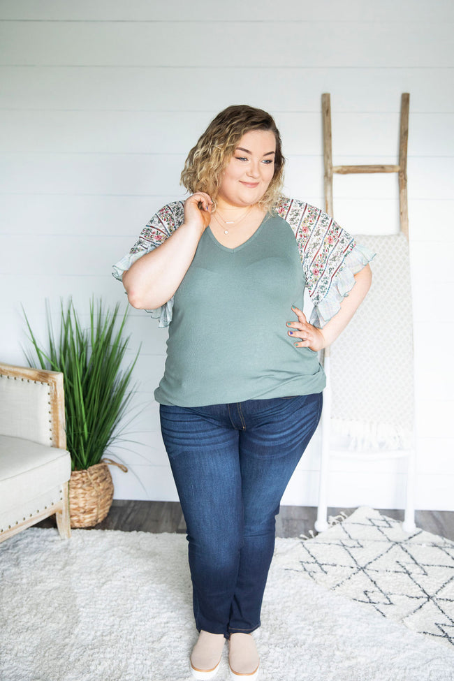 Curvy Bell The Truth Top
