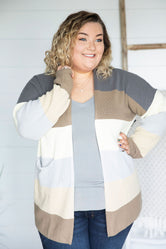 Curvy A Little Closer Cardigan