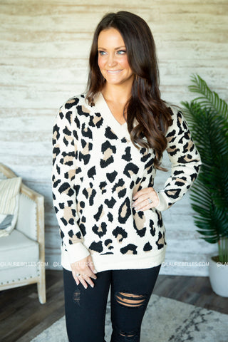 Malina Leopard Sweater
