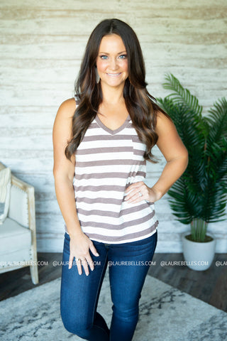 Blakley Striped Tank