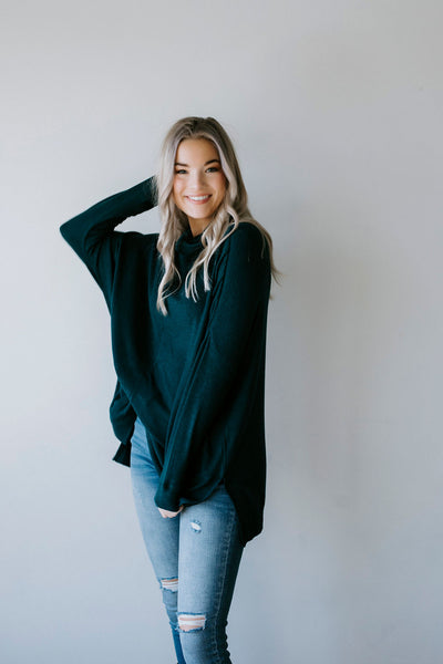 Lily Lottie Charcoal Distressed Cardigan Lauriebelles