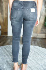 Grey Khloe Moto Kan Can Jeans