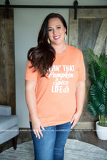 Curvy Spice Life Graphic Tee - FINAL SALE