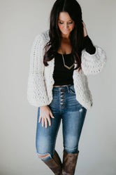 Knitty Gritty Cable Knit Cardigan