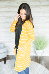 Lucky One Striped Cardigan