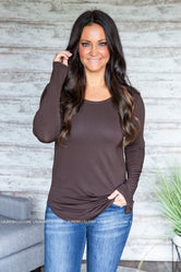Juina Long Sleeve Top (S-3XL)