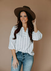 Brylin Striped Blouse