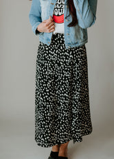 Cammy Animal Print Skirt