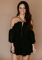 Rue Criss Cross Romper
