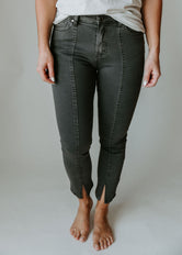 Up A Notch Crop Jeans