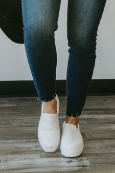 Elevated Slip On Sneaker