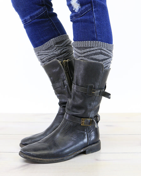 Laurel Boot Socks (Two Colors)