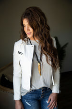 White Lightening Moto Jacket