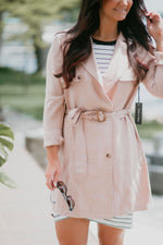 Trina Trench Coat-FINAL SALE