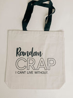 DOORBUSTER Exclusive Random Crap Canvas Tote